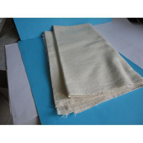 Портяночная ткань байка х/б времён СССР отрез 65см х 150см