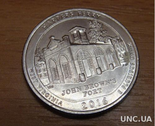 25 центов США  Harpers