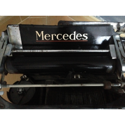 Печатная машинка mercedes zella-mehlis