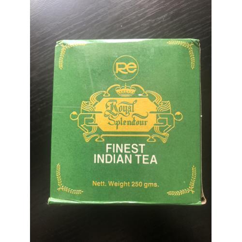 Чай индийский Royal Splendour времён СССР