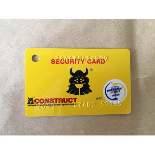 """Карта """"Security, construct"""""""