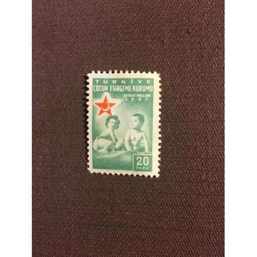 Марка, Турция,1957, 20 para