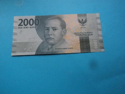 Индонезия 2016г. 2 000 рупий.