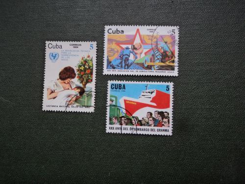 Куба. 3 марки.