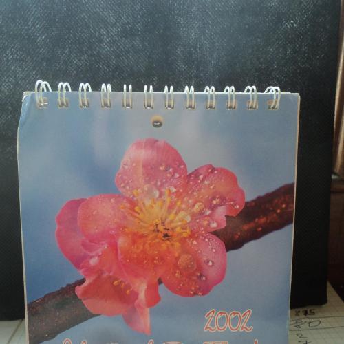 Настольный календарь 2002г. Германия. Флора. Цветы.