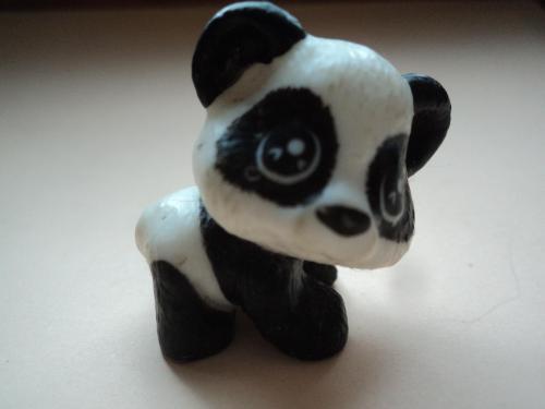 Панда-пандочка Мини 3Х2см.