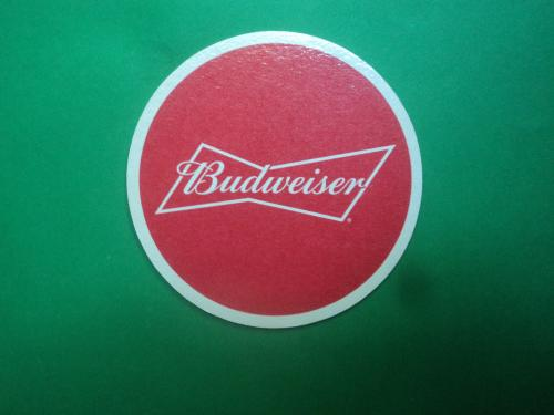 Подставка под пиво. Бирдекель. Костер. Budveizer.