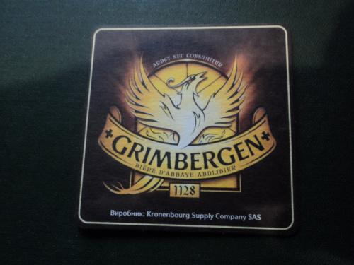 Подставка под пиво. Бирдекель (костер,декель) Grimberger.