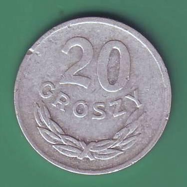 20 грош 1981г. Польша.