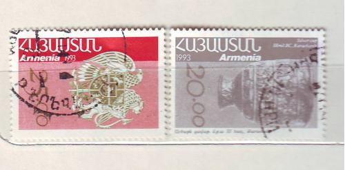 2 марки Армении.