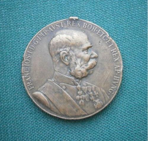 Медаль 50 лет правления императора Франца Иосифа