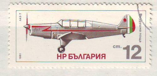Авиация  Болгария 1981