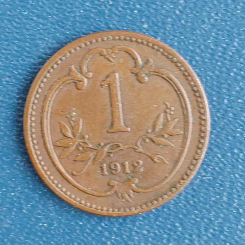 1 геллер 1912 год Австро-Венгрия
