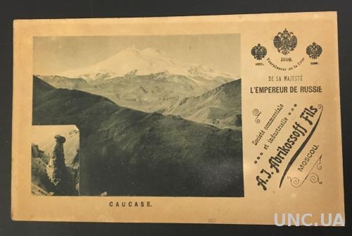Абрикосов, Кавказ 1899 год