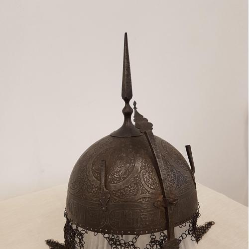 Оригинальный антикварный шлем Кулах-худ (кула-худ)17-18 века.