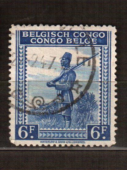 Бельгийское Конго марка