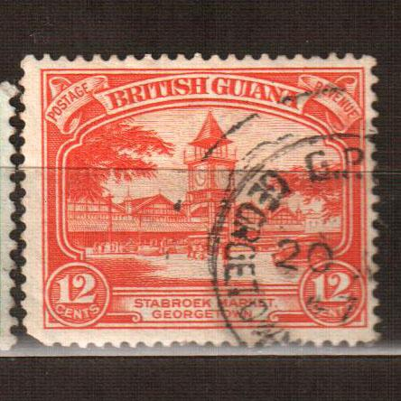 Британская Гвиана марка