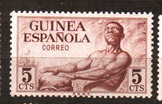 Гвинея Испания марка