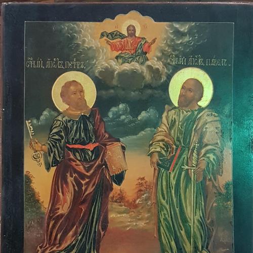 Икона Апостолы Петр и Павел