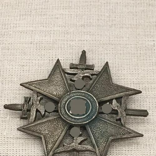 Испанский Крест с мечами III рейх