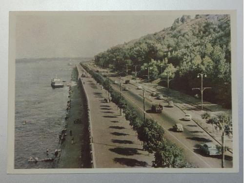 Київ Набережна Дніпра 1959 рік
