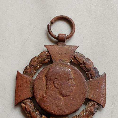 Крест Фанц Иосиф 1848-1908, видны остатки позолоты