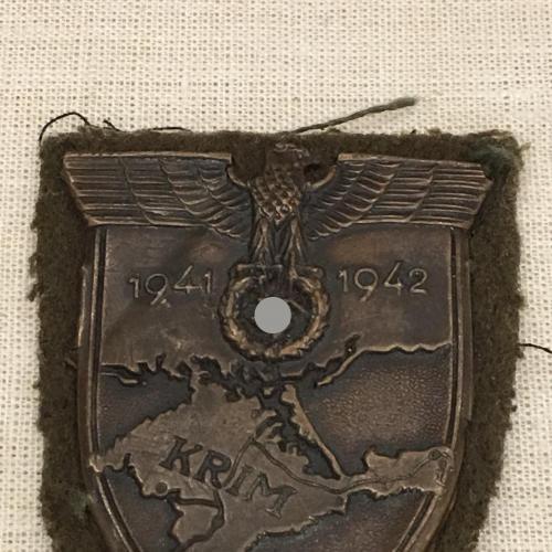 Крымский щит нарукавный щит «Крым» для Вермахта