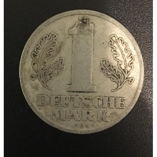 Монета Германия 1 марка, 1956