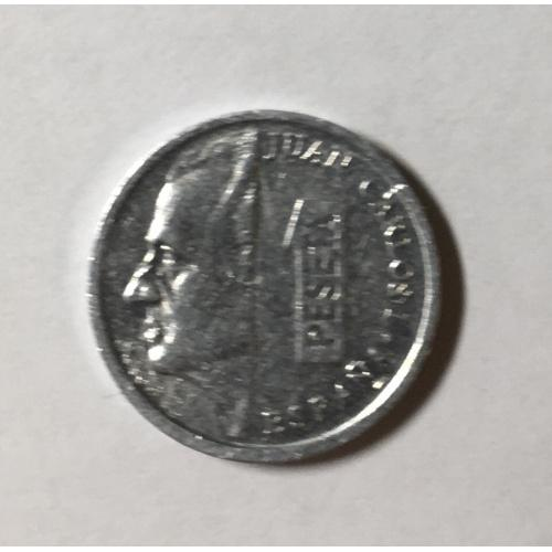 Монета Испания 1 песета,1995 год