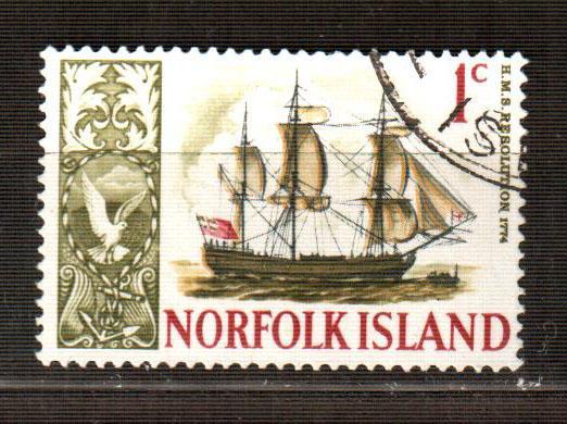 Остров Норфолк марка