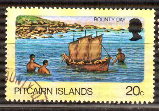 Острова Питкэрн. День Благодарения марка