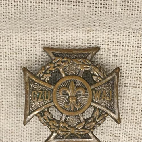 """Польский крест """"скаутсткий"""" CZU WAJ"""
