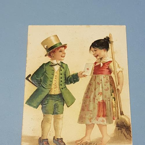 Поздравительная открытка Привет. Юмор. Золушка