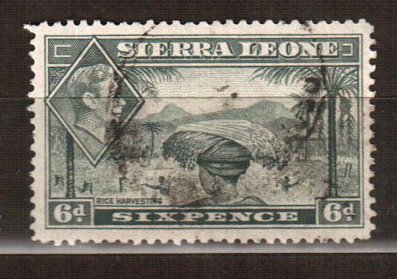Сьерра-Леоне марка