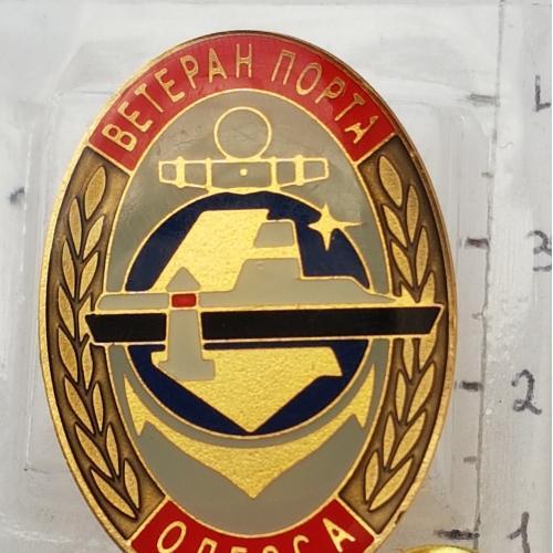 Знак у важк. мет. Ветеран порта Одесса