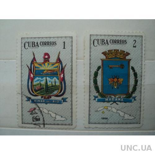 1974,Куба. Геральдика. гаш.