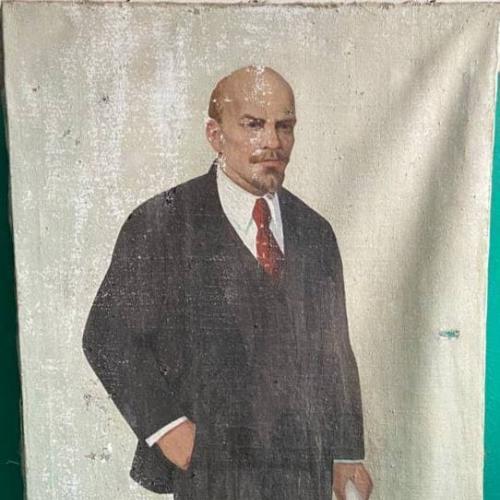 "Картина ""Ленин"" Художник Каплан М.Я"