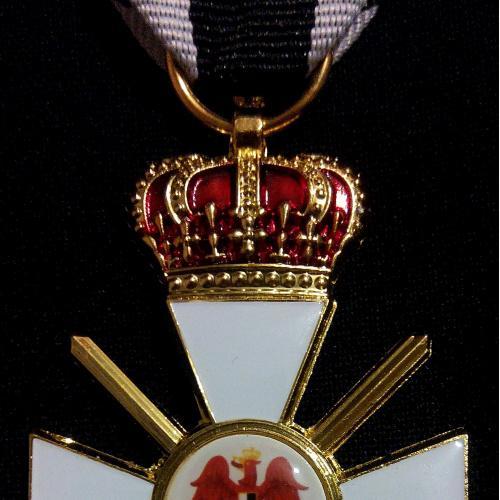 Орден Красного Орла с короной и мечами Германия Рейх Pour le Merite кайзер император