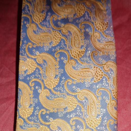 Король Франции редкий дорогой галстук шелк