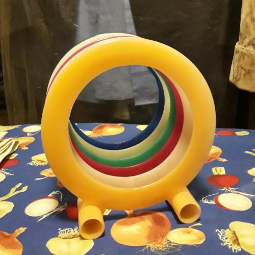 Виниловая пластинка кольцо подставка CD диск музыка