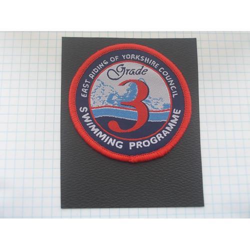 №694.2 Этикетка фирменная новая на ткани коллекционный вариант Grade 3