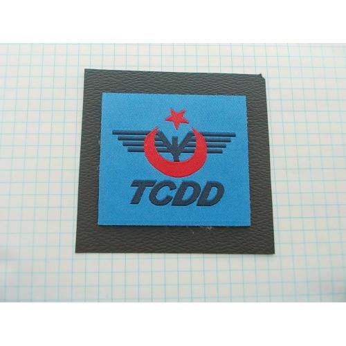 №694.4 Этикетка фирменная новая на ткани коллекционный вариант TCDD