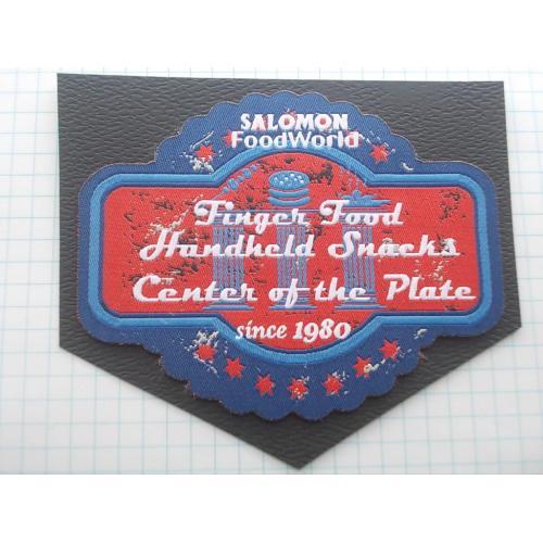 №694.7 Этикетка фирменная новая на ткани коллекционный вариант Salomon