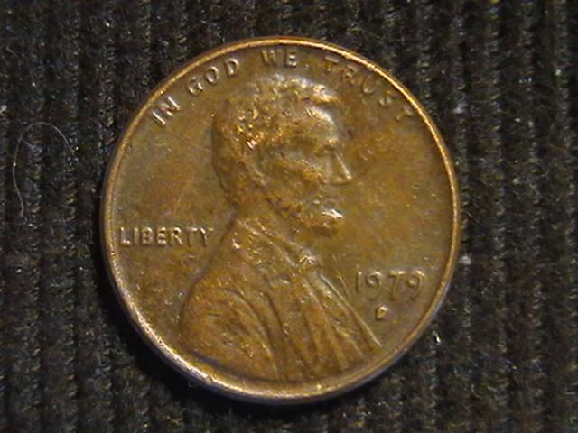 1 цент 1979 D  Денвер