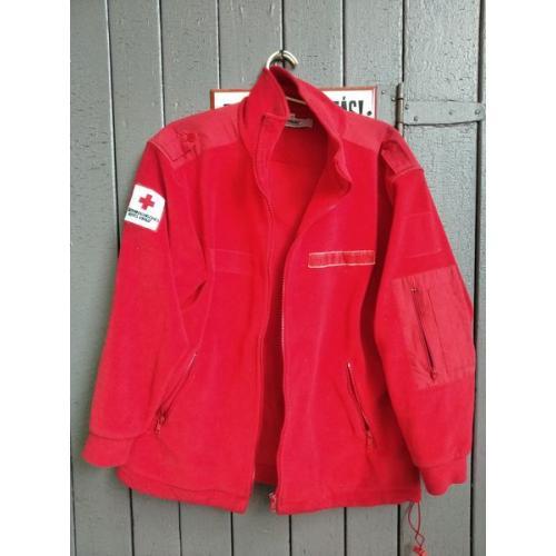 Австрия - Курточка Женская - Красный Крест - Шеврон - липучка под фамилию - Б/У .