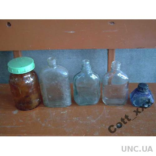 Бутылочки асорти - 60-70 годов -- ХХв.
