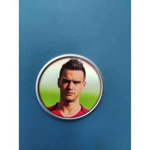 Европа - Футбол - Б/У . - карточка ? - жетон ? - фишка ? - диаметр 42 мм . - не частая .