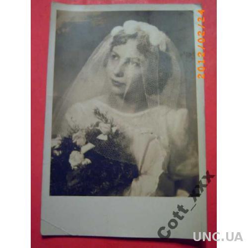 Фото - Невеста - 50-х годов ХХ века
