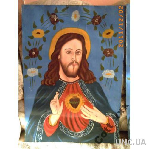 Икона - Народная живопись - АНТИКВАРИАТ