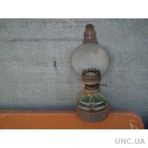 Керосиновая лампа - стеклянная колба - СССР - №3.